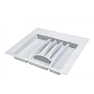 Лоток для столовых приборов в ящик белый 600 мм.