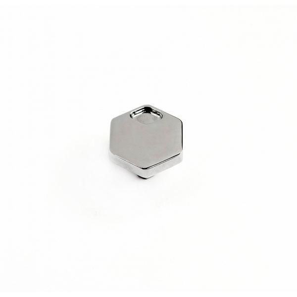 Ручка-кнопка Advance, Ø33 мм, хром