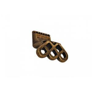 Кнопка RH136Z.023BA  бронза (распродажа)