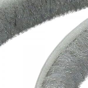 Светло-серый щеточный уплотнитель 6мм