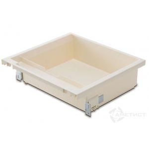 Ящик под плиту серый