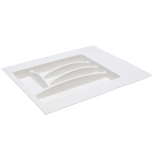 Ёмкость в базу 400-450 для столовых приборов, цвет белый