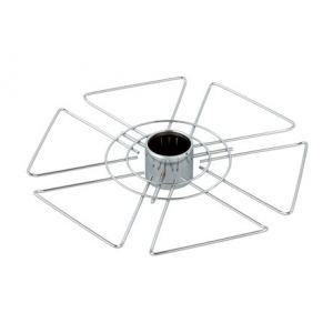 SPK103/CP (Полка центр. для бокалов шестиугольник (350*50)) ТИП-1