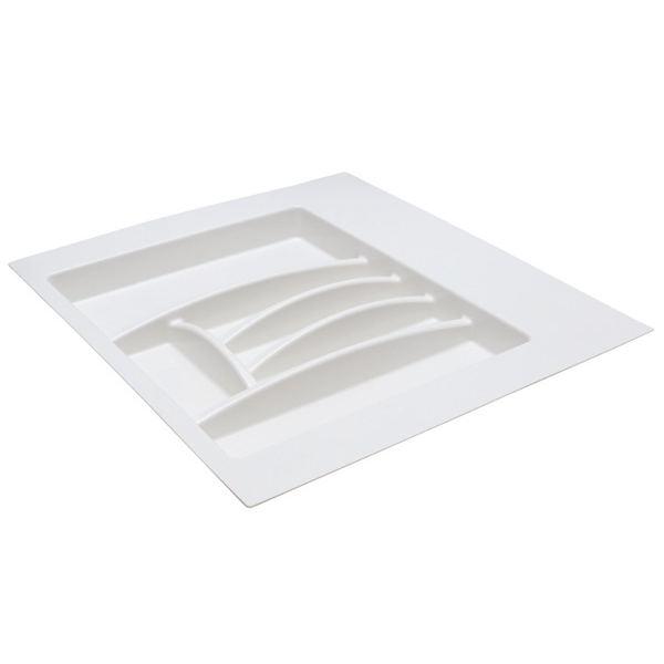 Ёмкость в базу 600 для столовых приборов, цвет белый