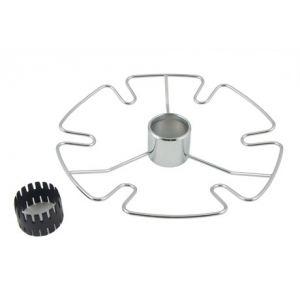 SPK102/CP (Полка центральная для бокалов (303*55))  ТИП-2 круглая