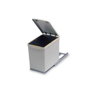 6.280.G Ведро для мусора (16л) выдвижное, пластик серый