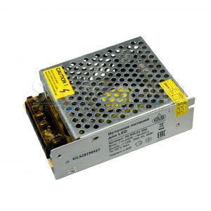 06.800.01.309 Источник питания стабилизатор напряжения 12В, max60Вт, IP20, WJ2, вх.100-240В мет корп