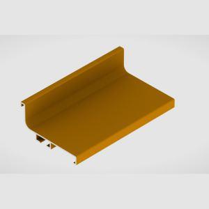 Профиль Г-образный L=4050 Золото