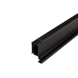 Gola Trend  профиль вертикальный промежуточный, для 16мм ДСП, L=4500мм, отделка черный шлифованный