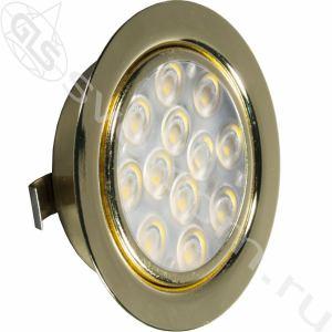 04.001.10.603 LED Replis-1   светильник мебельный встраиваемый, светодиодный 12V