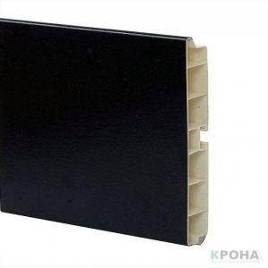 Цоколь пластиковый черный матовый Н120 для кухни