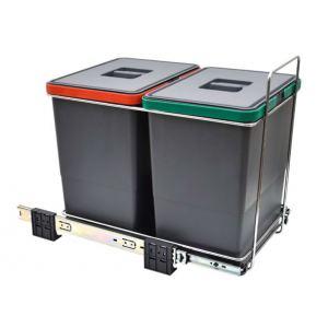 Контейнер для сбора мусора AFF двухсекционный 2х18л