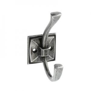 Крючок мебельный MADRYT, античное серебро