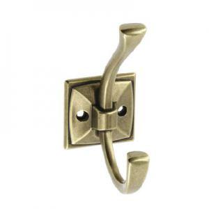 Крючок мебельный MADRYT, старое золото
