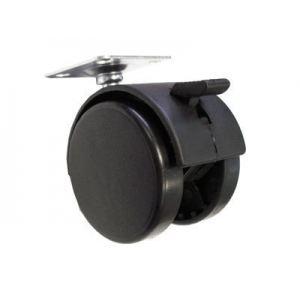 N101BL/BL.3 (Мебельное колесо, d=50мм, с  тормозом)   240