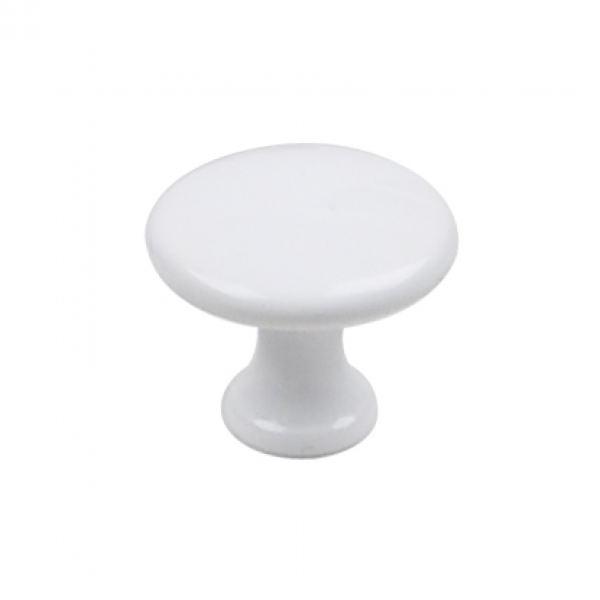 Ручка-кнопка LIMA белая