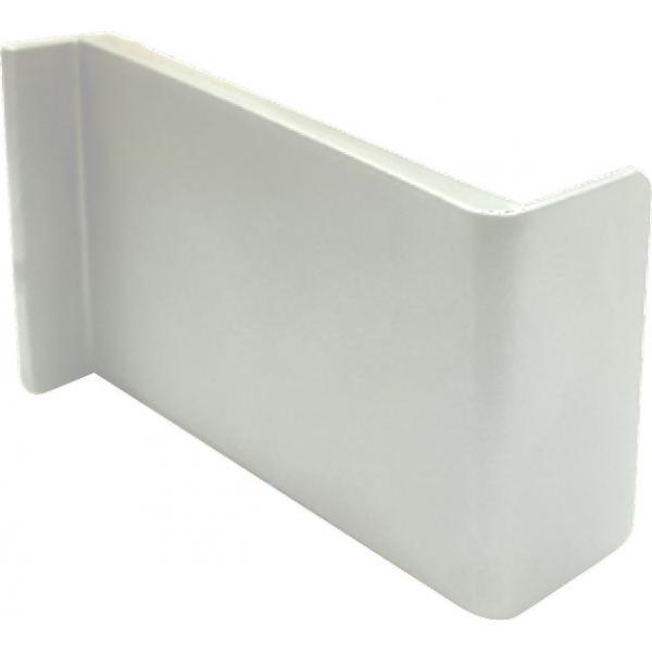 Накладка декоративная ABS L №1 белая (левая)