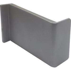 Накладка декоративная  ABS L №13 серые левая