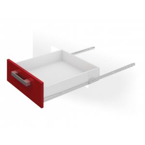 Направляющие DS801(DS 01W.1/300) (300мм)белые аналог 84371
