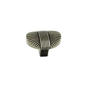 Винтажная ручка-кнопка Verona, античное серебро