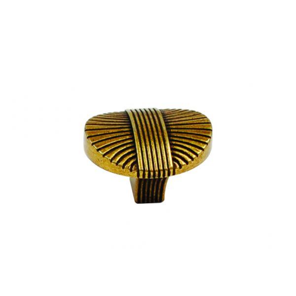 Винтажная ручка-кнопка Verona, античная бронза Валенсия