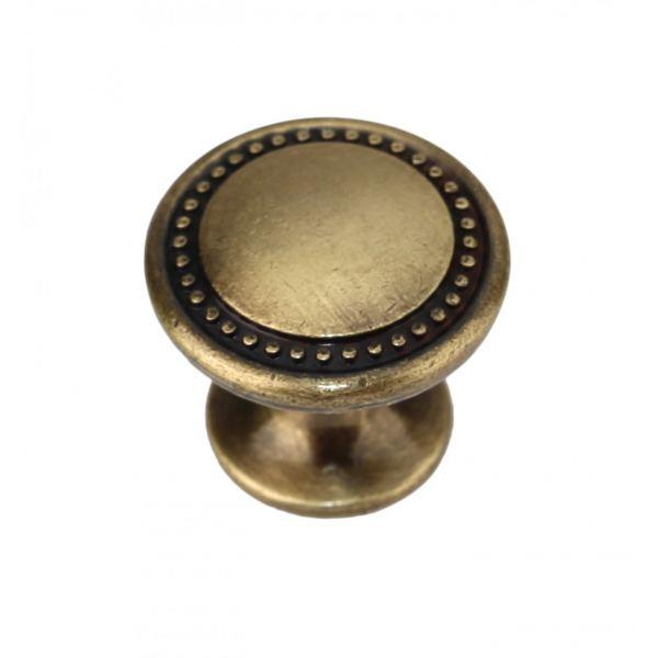 Ручка кнопка RC053AB.4 старинная латунь