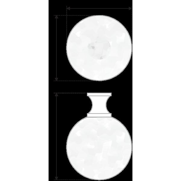 RC420CP/CrT.3 (Ручка мебельная)